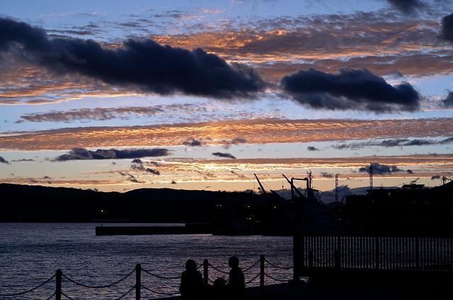 20110922_kure_sunset01